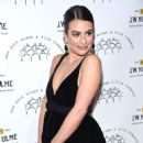 Lea Michele – Possing at New York Stage and Film 2019 Winter Gala