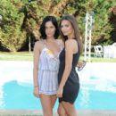Emily Ratajkowski attend the REVOLVE Hamptons Kick-Off Party hosted by Emily Ratajkowski at The REVOLVE House on July 4, 2015 in Sagaponack, New York