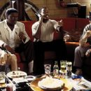 GQ, Bernie Mac, Martin Lawrence and John Leguizamo in MGM's What's The Worst That Could Happen - 2001