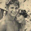 Dodie Fraser and Michael Landon