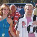 Jacques Villeneuve and Ellie Green