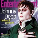 Johnny Depp - Entertainment Weekly Magazine Cover [United States] (11 May 2012)