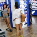 Karrueche Tran Shopping In La