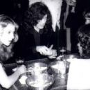 Jimmy Page and Bebe Buell at Rodney's