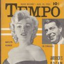 Marilyn Monroe - Tempo Magazine Cover [United States] (31 August 1953)