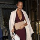 Alesha Dixon – Private dinner party at Bob Bob Ricard restaurant in London - 454 x 814