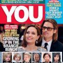 Angelina Jolie, Brad Pitt - You Magazine Cover [South Africa] (6 December 2012)