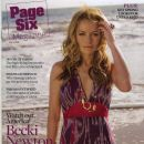 Becki Newton - Page Six Magazine Cover [United States] (13 April 2008)