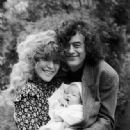 Jimmy Page and Patricia Ecker with their son James Patrick