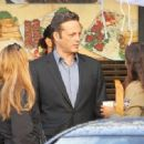 Vince Vaughn is spotted on the set of the hit HBO series 'True Detective' filming in Los Angeles, California on January 30, 2015 - 454 x 332