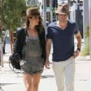 Nikki Reed Out About In La