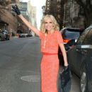 Kristin Chenoweth On Her Way To The 92nd Street In New York City