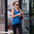 Natalie Portman At Trader Joes In La