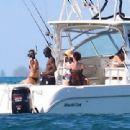 Bradley Cooper and Irina Shayk Snorkel in the Bahamas