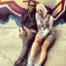 Wiz Khalifa and Amber Rose - 454 x 455