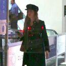 Dakota Johnson at LAX International Airport in Los Angeles