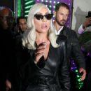 Lady Gaga – Leaving her hotel in London