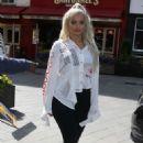 Bebe Rexha at Global Studios in London