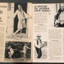 Yul Brynner, Twiggy - Cine Revue Magazine Pictorial [France] (19 August 1971)
