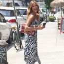 Kelly Bensimon in Summer Dress – Out in New York - 454 x 636