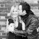 Jennifer Aniston and Justin Theroux shot by photographer Terry Richardson - 454 x 326