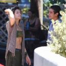 Paris Jackson out for lunch in Hollywood - 454 x 460