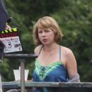 "Michelle Williams - On ""Take This Waltz"" Set In Toronto - August 23, 2010"