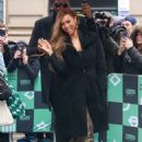 Tyra Banks – Arrives at AOL Build Studios in New York City