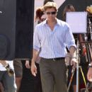 "Brad Pitt's ""Moneyball"" Afternoon"