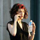 Rachel Weisz Takes A Break From Filming My Blueberry Nights, August 17 2006