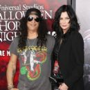 Slash attends the opening night of Universal Studios' Halloween Horror Nights held at Universal Studios Hollywood on September 12, 2019 in Universal City, California
