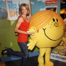 Nell McAndrew - Posing With Little Miss Sunshine At A Photocall To Unveil New Toy Range In London, 30.10.2008.