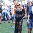 Paris Hilton is seen at The Coachella Valley Music and Arts Festival on April 15, 2016