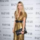 Cara Delevigne attends the Harper's Bazaar Women Of the Year Awards 2011 at Claridges Hotel on November 7, 2011 in London, England