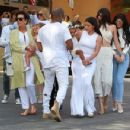 Kris Jenner and Family to church on Easter Sunday in Calabasas, California on April 5, 2015