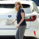 Jenna Fischer – Out and about in Los Angeles