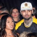 Chris Brown and Ammika Harris - 218 x 232