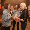 Lucas Jagger, Luciana Gimenez and Ellen Von Unwerth - 454 x 454