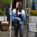 Stephanie Davis – Leaves Menagerie in Manchester - 454 x 681