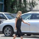 Elizabeth Olsen – Leaving a gym in West Hollywood