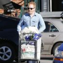 Tyler Ferguson does some solo grocery shopping at Whole Foods in West Hollywood, Calfiornia on January 5, 2015 - 450 x 594