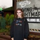 Maisie Williams – 'The Walking Dead: Living Nightmare' in Chertsey - 454 x 303
