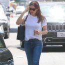 Jennifer Garner – Visit the Tony La Maida in North Hollywood