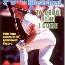 Pete Rose - Sports Illustrated Magazine Cover [United States] (19 August 1985)
