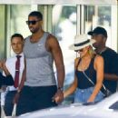 Khloe Kardashian was spotted out to lunch  in Miami, Florida on September 18, 2016