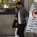 Emilia Clarke and Matt Smith – leave Bob Bob Ricard restaurant in Soho