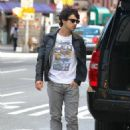 Joe Jonas walking in New York City (September 11)