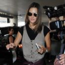 Alessandra Ambrosio Arrives on a Flight at LAX - 418 x 600