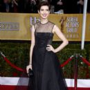 Anne Hathaway At The 19th Annual Screen Actors Guild Awards (2013)