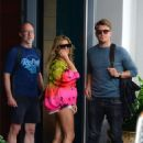 Sylvie Meis – Outside her Miami Beach Hotel - 454 x 681